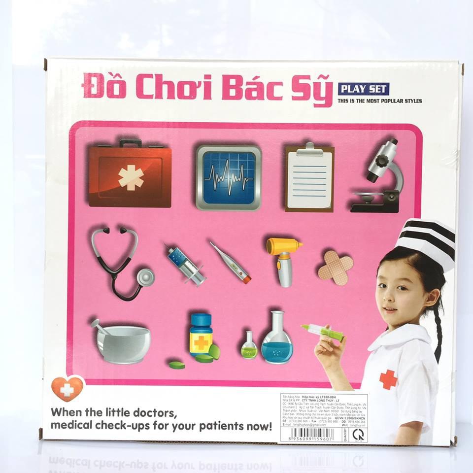 Hộp Đồ Chơi Bác Sỹ Cho Bé Tập Làm Bác Sỹ (Hình Chữ Nhật)