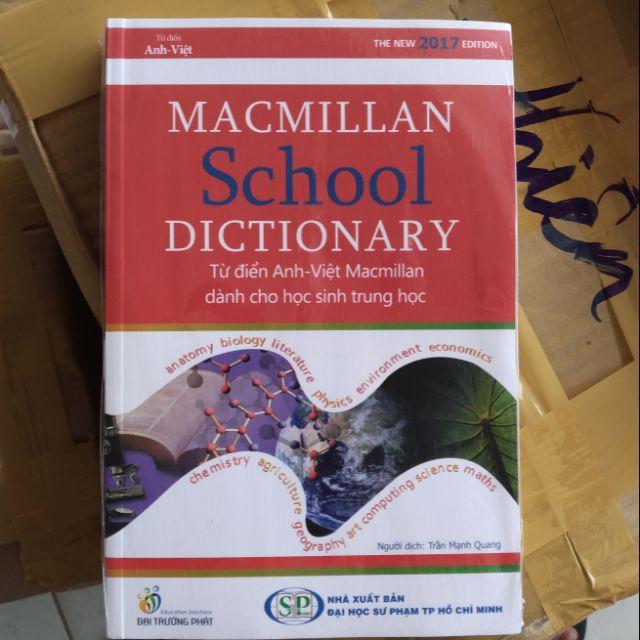 Từ Điển Anh - Việt Dùng Cho Học Sinh Trung Học MacMillan