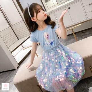 Đầm bé gái 6 tuổi (1-6 tuổi) Vay cong chua be gai 3 tuoi thời trang cho bé gái 1 tuổi thumbnail