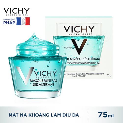 Mặt nạ khoáng chất làm dịu và tươi mát làn da Vichy Quenching Mineral Mask 75ml _ 3337875508919