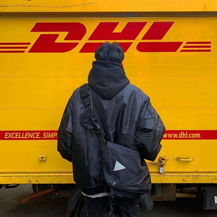 [Mã SKAMSALE06 hoàn 10% đơn từ 150K] Túi StreetWear phong cách DHL - Sẵn hàng