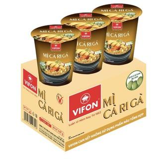 20 ly mì cà ri gà Vifon 60g/ly