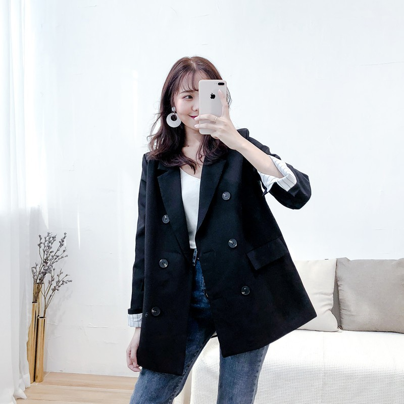 Korean version of the professional casual wearing small British wind jacket suit