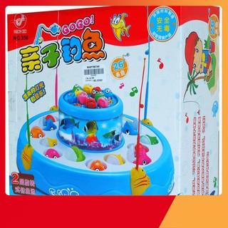 FREESHIP ĐƠN 99K- Đồ chơi câu cá 2 tầng thông minh cho bé MACAM06