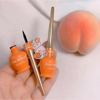 Bút Kẻ Mắt Trái Đào Sweet As Peach Eyeliner Của Kiss Beauty thumbnail
