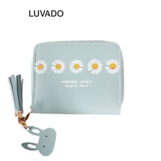 Ví nữ nhỏ gọn bỏ túi mini MADLEY cao cấp cầm tay đựng tiền cute LUVADO VD415 thumbnail