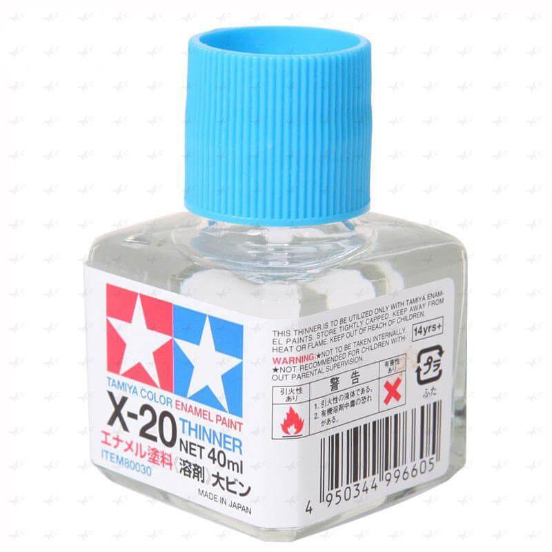80030 Dung dịch pha sơn Tamiya X-20 Enamel thinner (40ml)