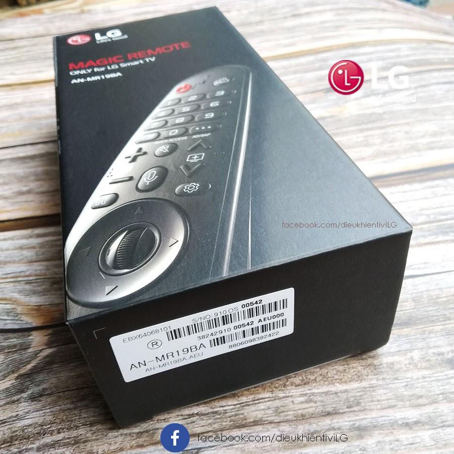 Điều khiển thông minh smart LG AN-MR19BA Chính hãng, giọng nói, chuột bay- dùng cho SmartTV đời 2017,2018,2019