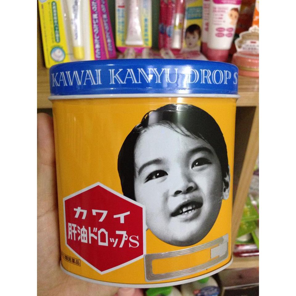 Kẹo dầu cá KAWAI KANYU DROP S bổ sung vitamin A+D 300 viên nhật bản - 3141994 , 575206122 , 322_575206122 , 540000 , Keo-dau-ca-KAWAI-KANYU-DROP-S-bo-sung-vitamin-AD-300-vien-nhat-ban-322_575206122 , shopee.vn , Kẹo dầu cá KAWAI KANYU DROP S bổ sung vitamin A+D 300 viên nhật bản