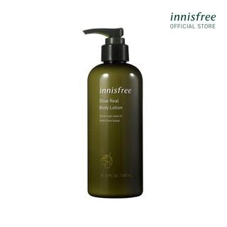 [Mã COSIF9 giảm 10% đơn 400K] Sữa dưỡng thể cung cấp độ ẩm chiết xuất từ ô liu innisfree Olive Real Body Lotion 300ml thumbnail