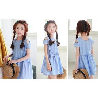 (KIDL) QHien135- Đầm hè cho bé gái (Hàng chuẩn)