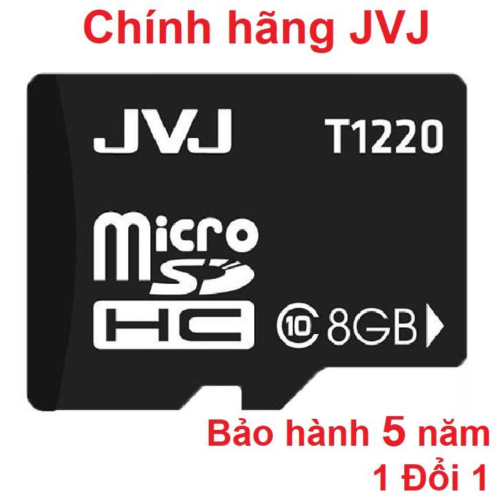 Thẻ nhớ JVJ 8G C10 tốc độ cao microSDHC