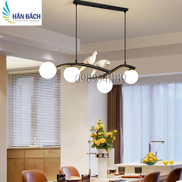 Đèn chùm,Đèn thả trang trí bàn ăn,đèn thả trần hiện đại,đèn thả salon,cafe(Tặng bóng)
