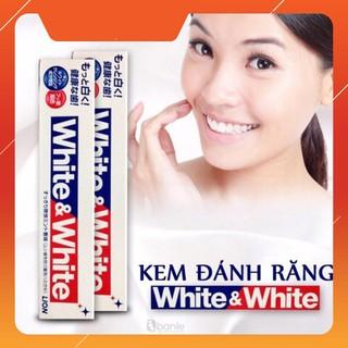 Kem Đánh Răng WHITE & WHITE Nhật Bản chuẩn hàng nhật giá tốt