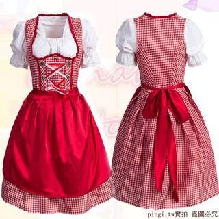Restaurant overalls Bavarian Beer sister promotional suit Dingdong dress dance s