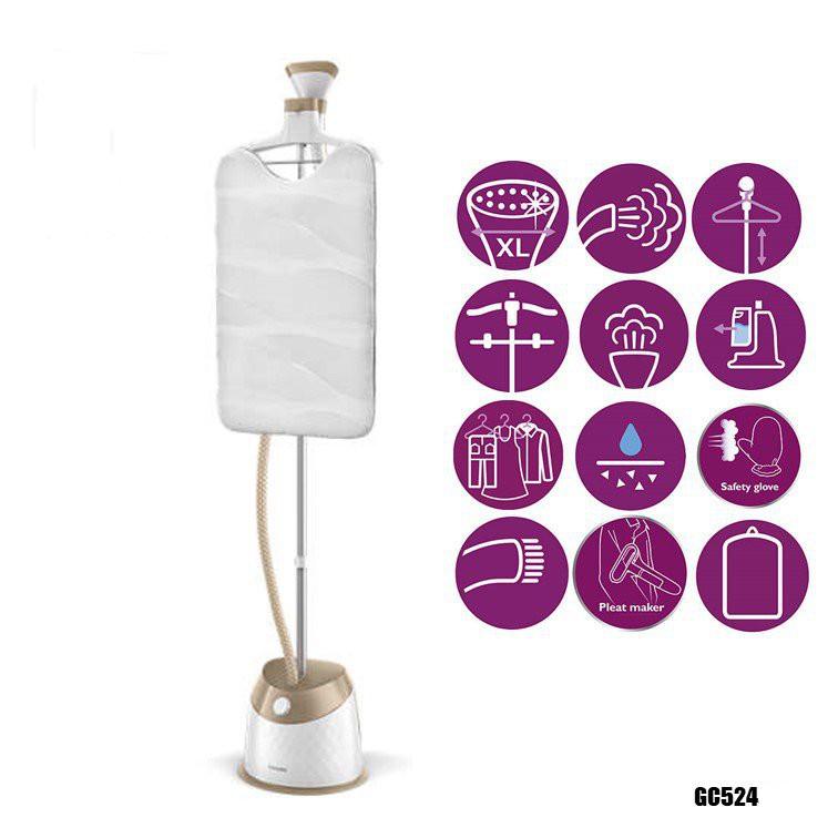 Bàn ủi cây hơi nước Philips GC524