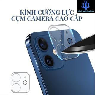 Kính Camera Chuẩn Thế Giới Di Động Bảo Vệ Camera Cho IPhone 11 Series và 12 Series thumbnail