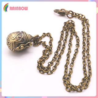 [RAINBOW] Pet Dog Ashes Urn Necklace Pendant Cremation Memorial Jewelry