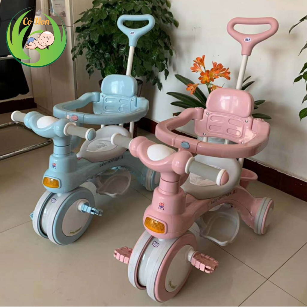 Xe đẩy cho bé T618 hàng cao cấp có nhạc và đèn