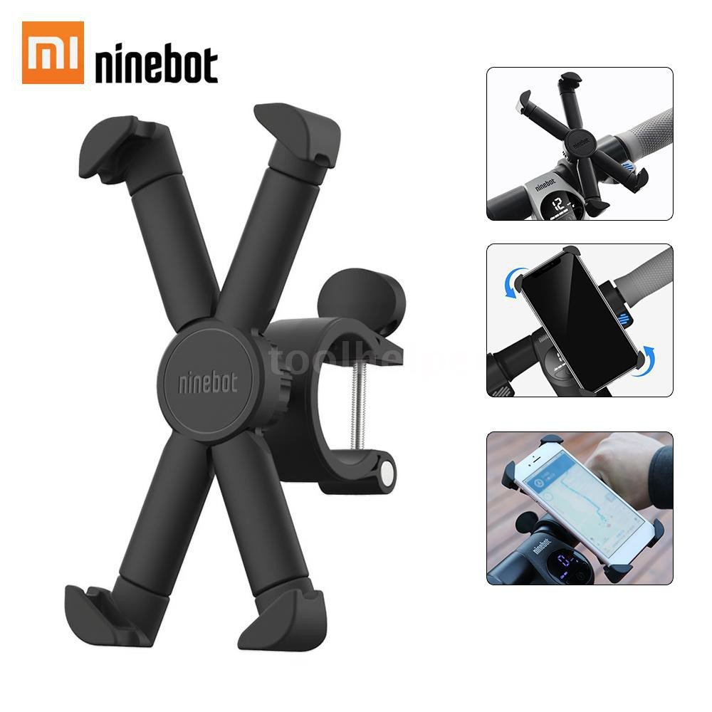 Xiaomi Mijia Segway-ninebot Scooter Phone Bracket 360 Degree Rotatable Bicycle Motorcycle Holder For 4.7inch-6.5inch Mob