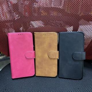 Bao da Samsung A22 4G kiểu ví gài màu thời trang