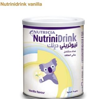[1 lon tặng 2 thanh 30g] Combo 2 lon Nutrinidrink vị vanila-trung tính 400g DATE 2021