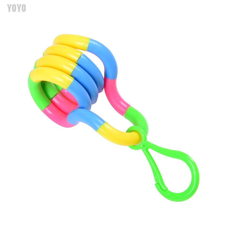 [HK] Tangle Twist Decompression Toys Child Deformation Rope Plastic Fidget Stress Toy (GHKHL)