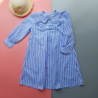 [Mã KIDMALL15 hoàn 15% xu đơn 150K] Váy thô dài tay cho bé gái-KF16-KIFI