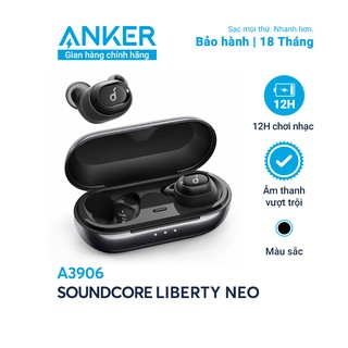Tai nghe bluetooth SoundCore Liberty Neo (by ANKER) True Wireless Sport - A3906