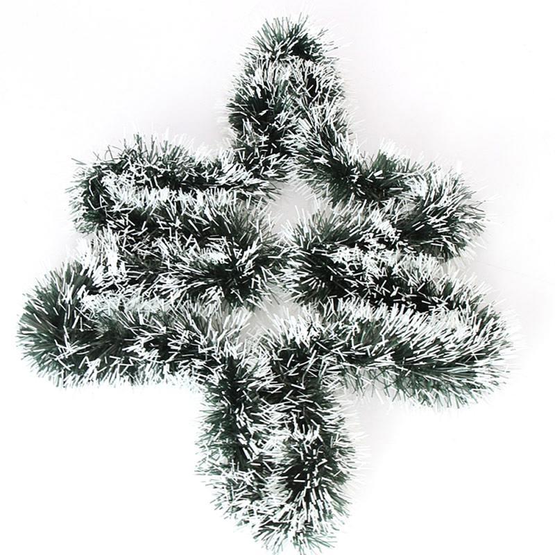 Dây ruy băng xanh trang trí cây thông giáng sinh dài 2m