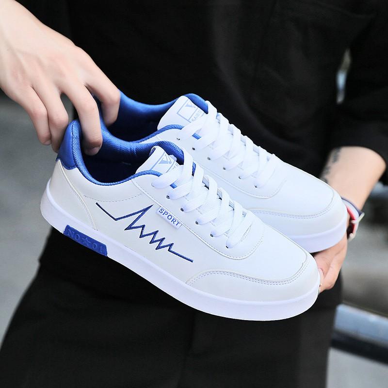 Giày thể thao sneaker da cao cấp Hàn Quốc