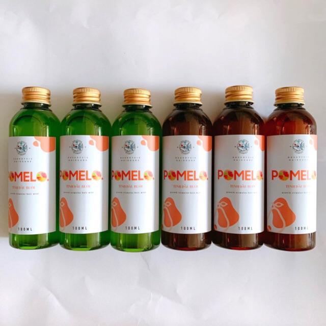 Pomelo(Vỏ chai mới)_tinhdầubưởi TẶNG KÈM KẸP CÀNG CUA/ CÀI TÓC CÚC HỌA MI