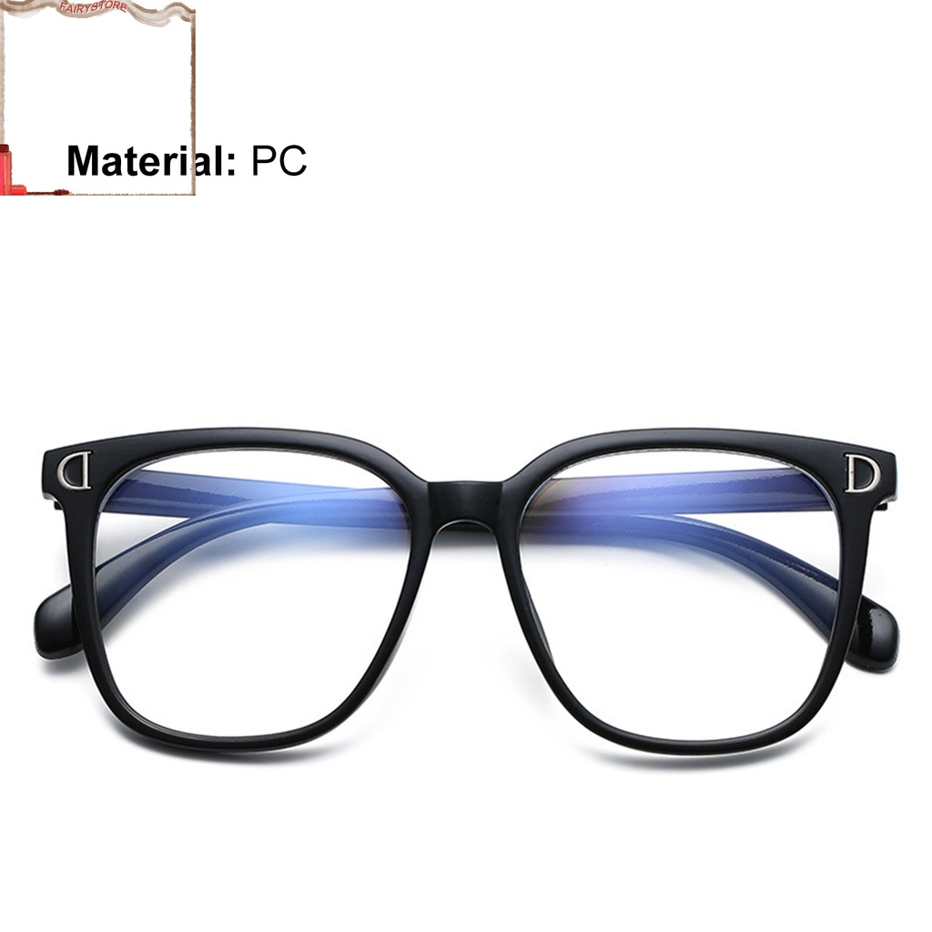 fairystoreSP Smooth Spectacles Portable Decorative Clear Glasses Decorative Eyewear