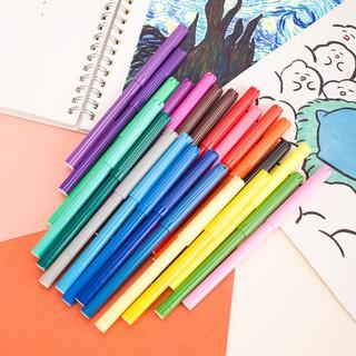 Hình ảnh Bút màu nước học sinh Deli, 1.0mm, 12 màu - 18 màu - 24 màu/hộp E37171-1