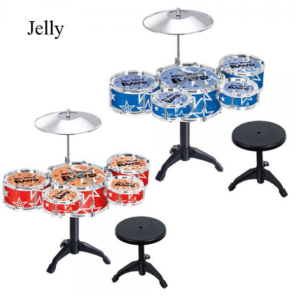 Children Babies Kids Drum Set Musical Educational Music Toy Playset J191