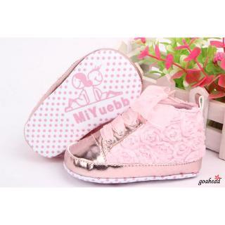 Giày bốt tập đi kiểu dáng thể thao đế mềm dành cho bé gái tuổi tập đi