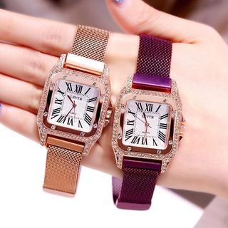(Giá sỉ) Đồng hồ thời trang nữ LSVTR đính cườm siêu đẹp