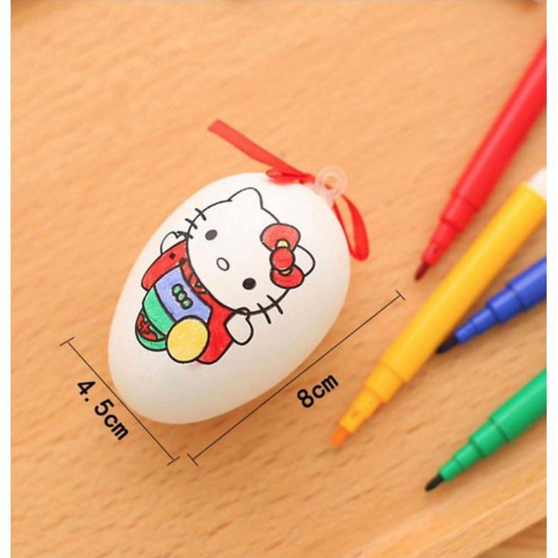 Đồ chơi trứng tô màu nhiều mẫu dễ thương S009