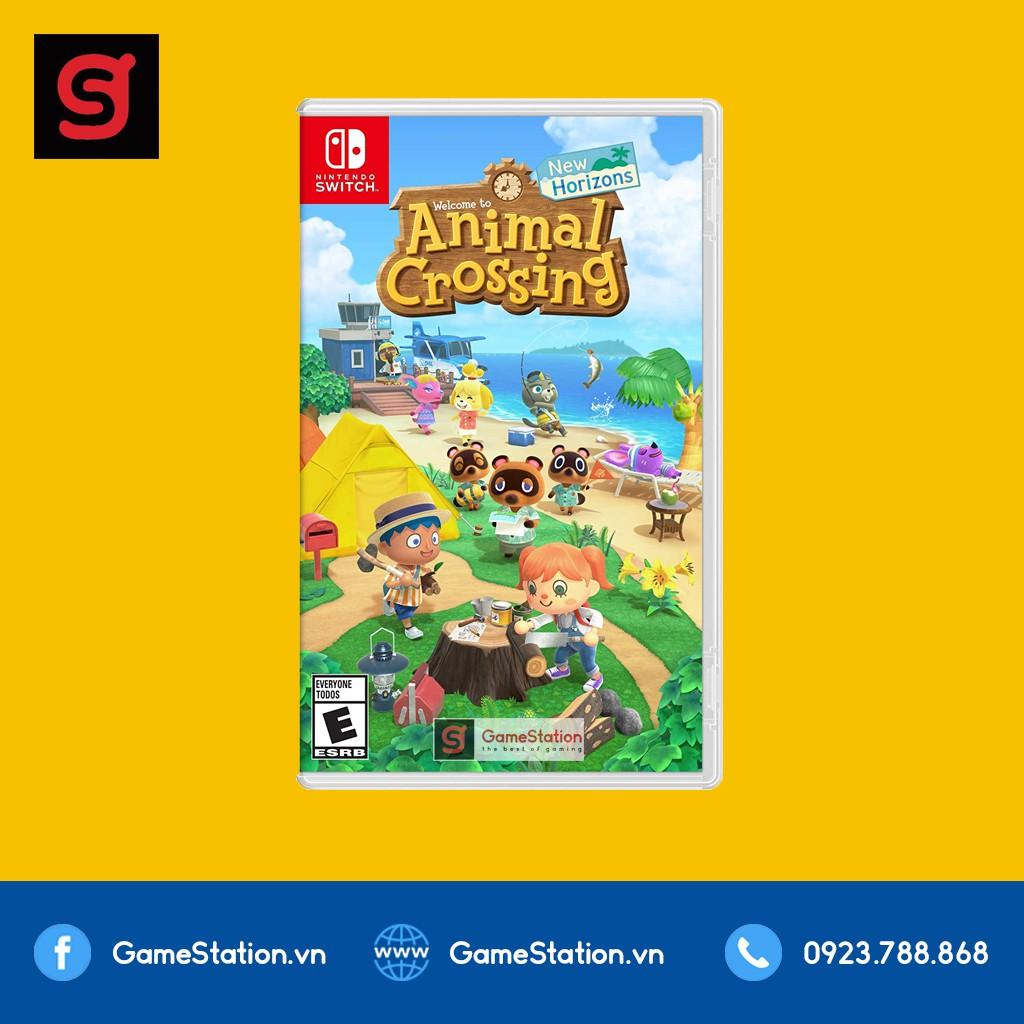[Mã ELTECHZONE giảm 6% đơn 500K] Game Animal Crossing: New Horizons - Cho Máy Nintendo Switch