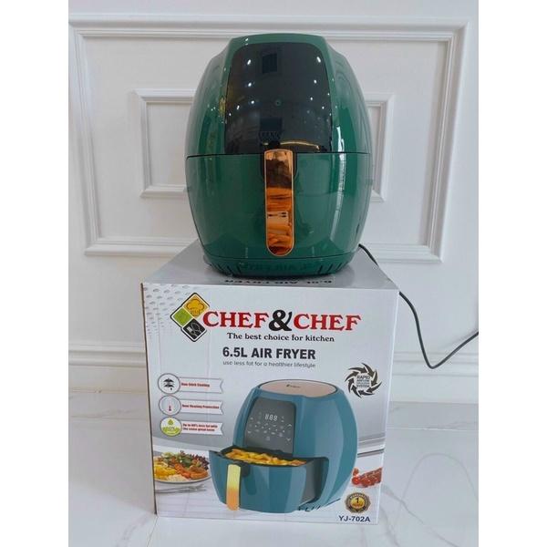 Nồi chiên không dầu ChefChef dung tích 6,5 Lít, Nồi chiên không dầu Chef and Chef cảm ứng