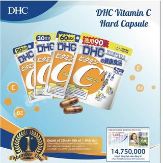 Hình ảnh Viên uống DHC Bổ sung Vitamin C Nhật Bản 40v/gói và 120v/gói-3