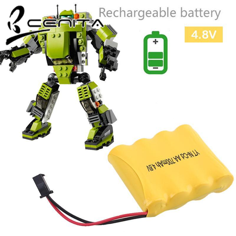 CNT RC Car Battery Replacement Rechargeable Battery 4.8V 700mAh Power