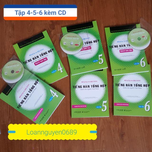 [FREESHIP] Sách Tiếng hàn tổng hợp dành cho người Việt Tập 4-5-6 Kèm CD - 2564959 , 1132790634 , 322_1132790634 , 510000 , FREESHIP-Sach-Tieng-han-tong-hop-danh-cho-nguoi-Viet-Tap-4-5-6-Kem-CD-322_1132790634 , shopee.vn , [FREESHIP] Sách Tiếng hàn tổng hợp dành cho người Việt Tập 4-5-6 Kèm CD