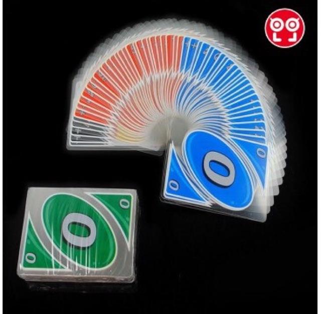 Bài UNO H2O nhựa. boardgames