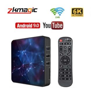Tivi Box Android 9.0 Z3 2gb 16gb Allwinner H6 2.4g & 5g Wifi 3d Uhd 6k Youtbe Netflix 4gb 64gb 32gb Và Phụ Kiện