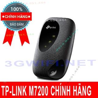 Bộ Phát Wifi 4G TP-Link M7200 – Wi-Fi Di động Tplink M7200 Hàng Chính Hãng Tốc Độ 150Mbps