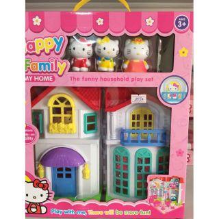 Đồ chơi ngôi nhà hello kitty