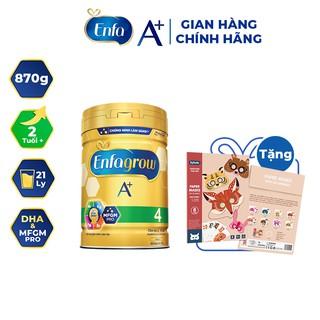 """[Tặng Bộ Sưu Tập Giấy Origami Mặt Nạ] Sữa Bột Enfagrow A+ 4 870g (2 Tuổi +) giá chỉ còn <strong class=""""price"""">40.100.000.000đ</strong>"""