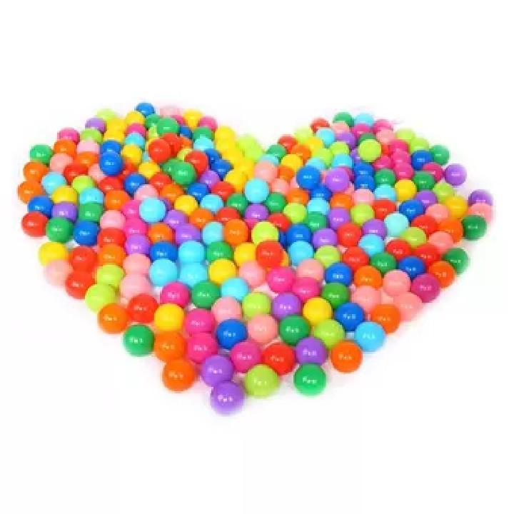 combo 100 bóng nhựa nhiều màu cho bé