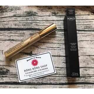 (Chuẩn Pháp-12ml) Mascara KIKO Luxurious Lashes Maxi Brush làm dày và cong mi